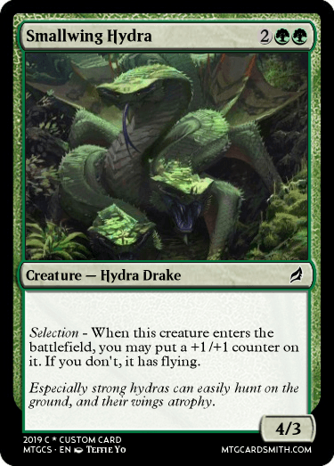 Smallwing Hydra