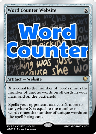 Word Counter Website
