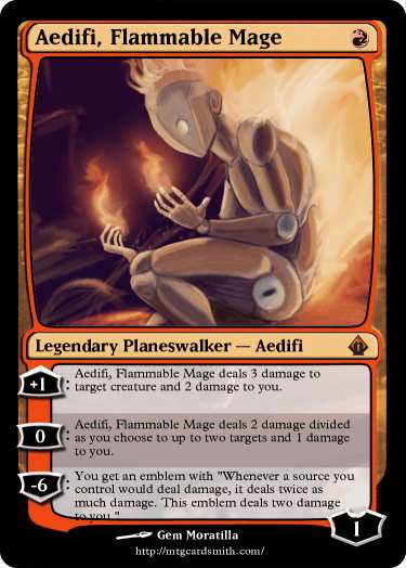 Aedifi, Flammable Mage