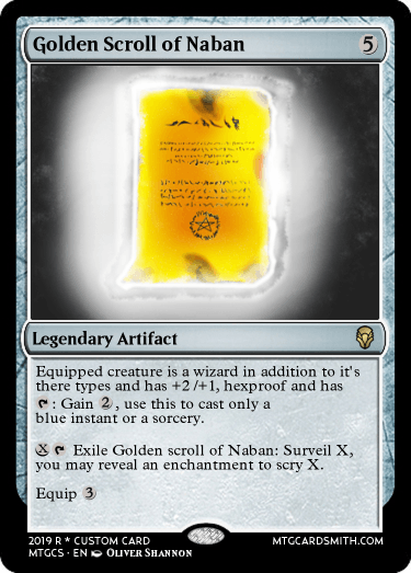 Golden Scroll of Naban
