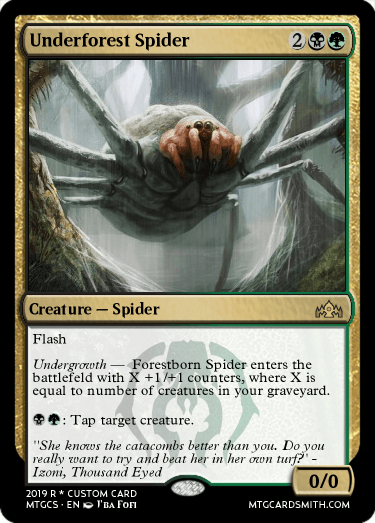 Underforest Spider