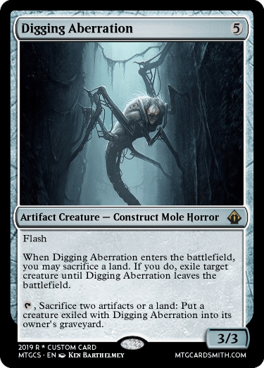 Digging Aberration