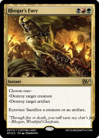 Rhogar's Fury