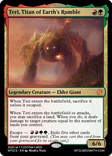 Teri, Titan of Earth's Rumble