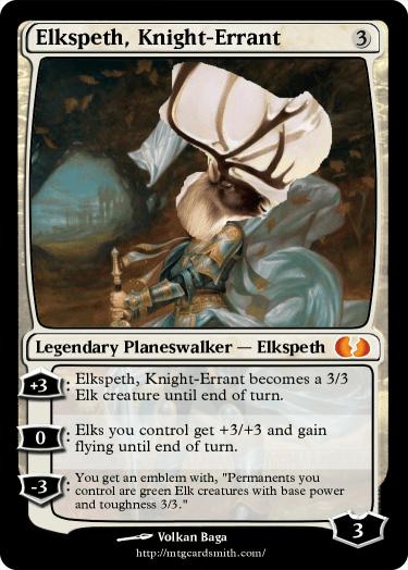 Elkspeth, Knight-Errant