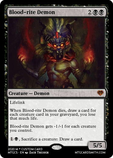 Blood-rite Demon