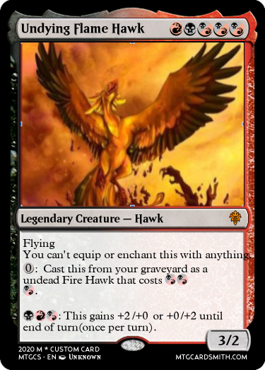 Undying Flame Hawk