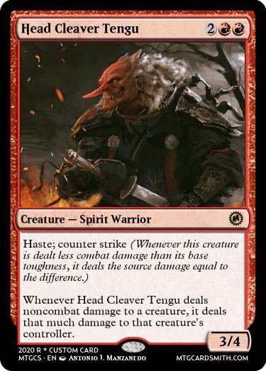 Head Cleaver Tengu
