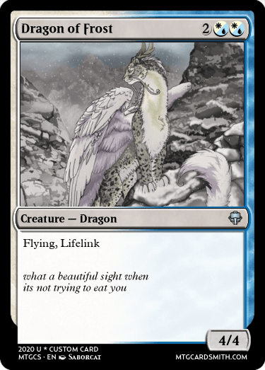 Dragon of Frost