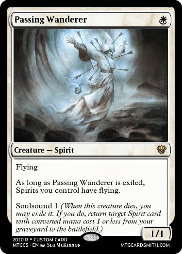 Passing Wanderer