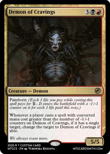 Demon of Cravings