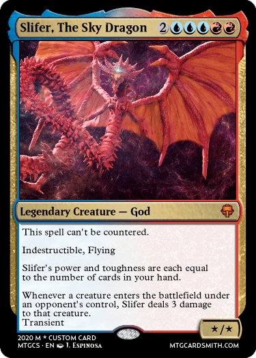 Slifer, The Sky Dragon
