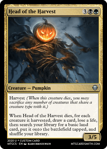 Head of the Harvest