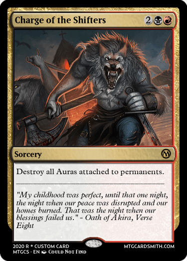 Charge of the Shifters