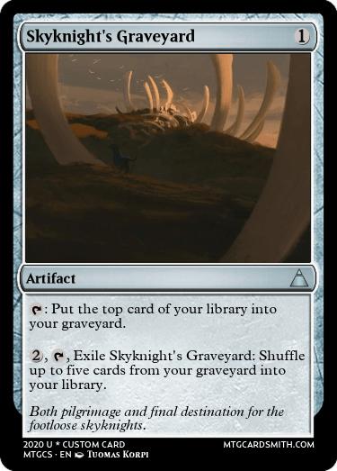 Skyknights Graveyard