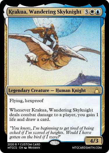 Krakua Wandering Skyknight