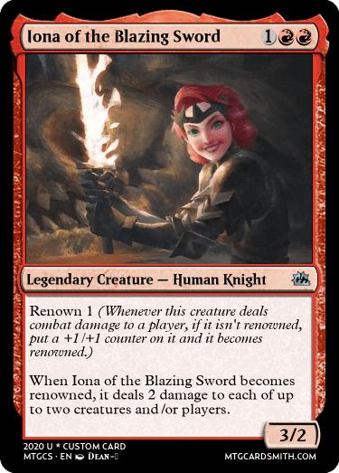 Iona of the Blazing Sword