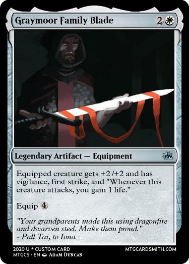 Graymoor Family Sword