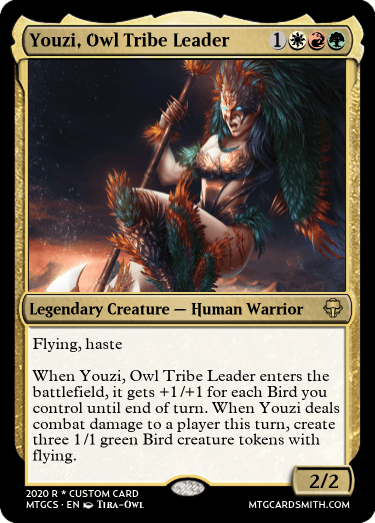 Youzi, Owl Tribe Leader