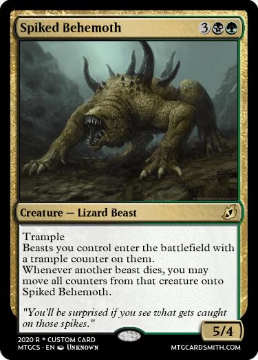 Spiked Behemoth