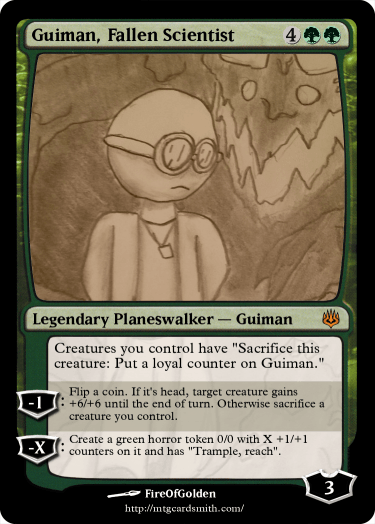 Guiman Fallen Scientist