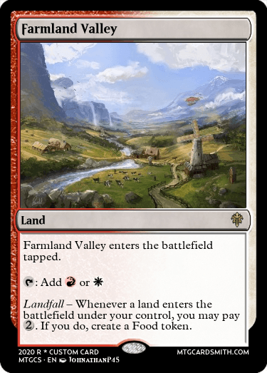Farmland Valley