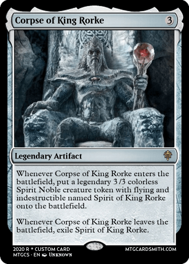 Corpse of King Rorke