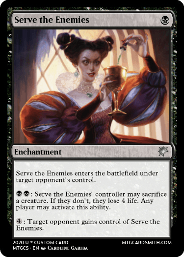 Serve the Enemies