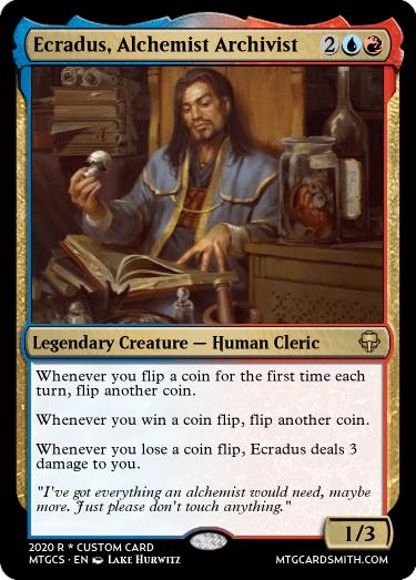 Ecradus Alchemist Archivist