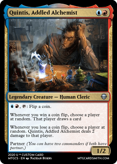 Quintis Addled Alchemist