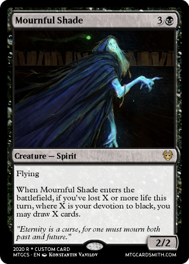Mournful Shade