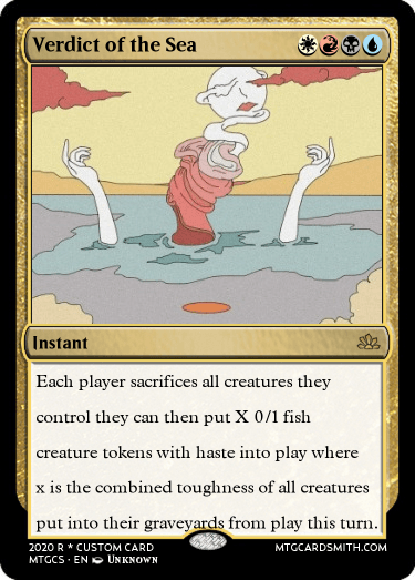 Verdict of the Sea