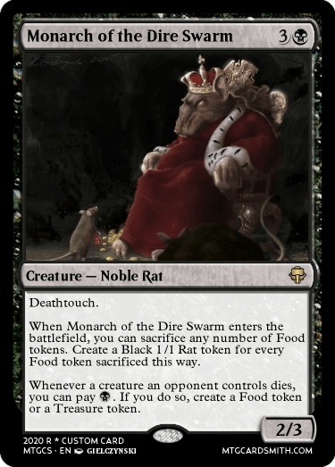Monarch of the Dire Swarm