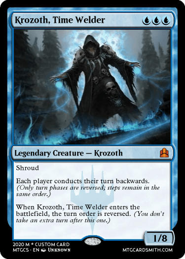 Krozoth, Time Welder