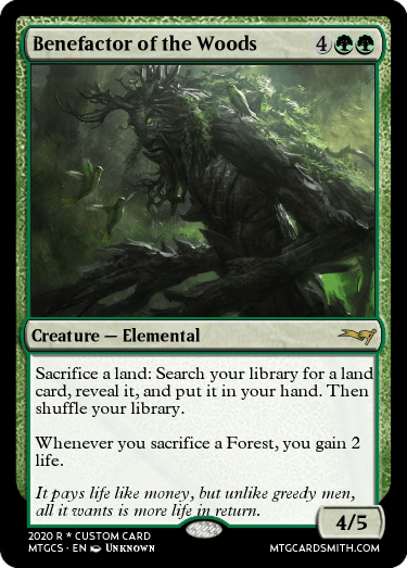 Benefactor of the Woods