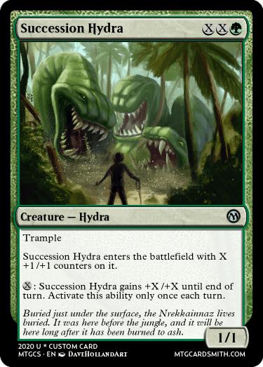 Succession Hydra