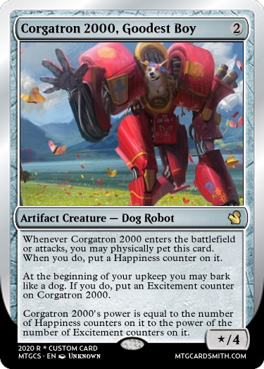 Corgatron 2000 Goodest Boy