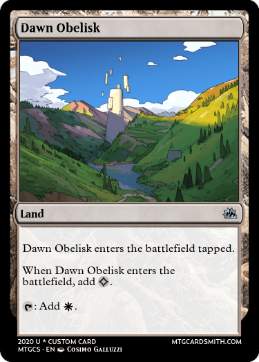 Dawn Obelisk
