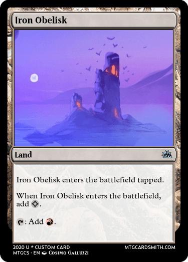 Iron Obelisk