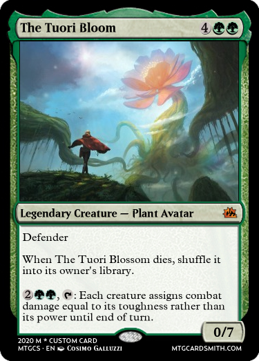 The Tuori Bloom