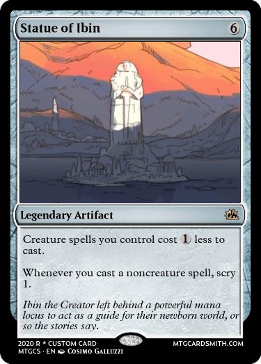 Statue of Ibin