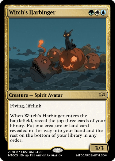 Witchs Harbinger