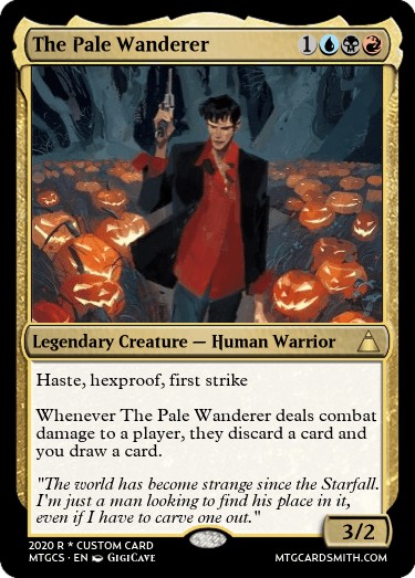 The Pale Wanderer