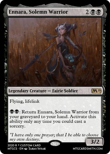 Ennara Solemn Warrior