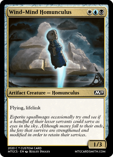 Wind-Mind Homunculus