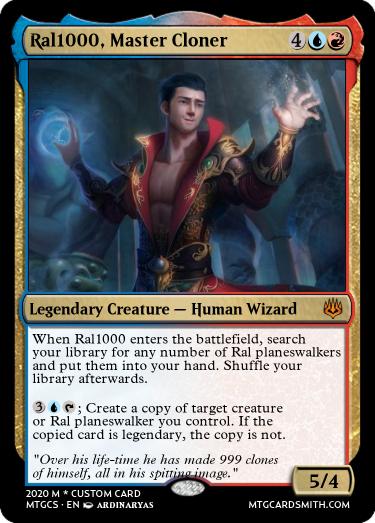 Ral1000 Master Cloner