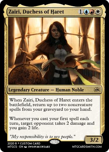 Zairi Duchess of Haret