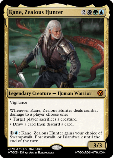 Kane Zealous Hunter