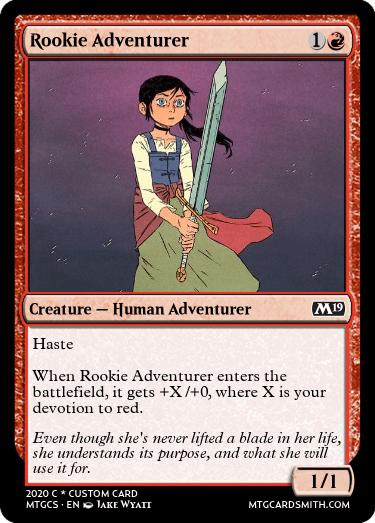 Rookie Adventurer