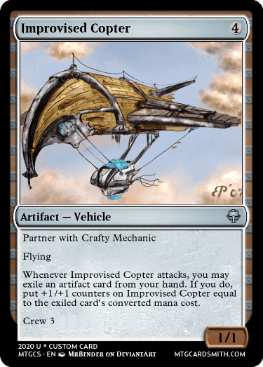Improvised Copter